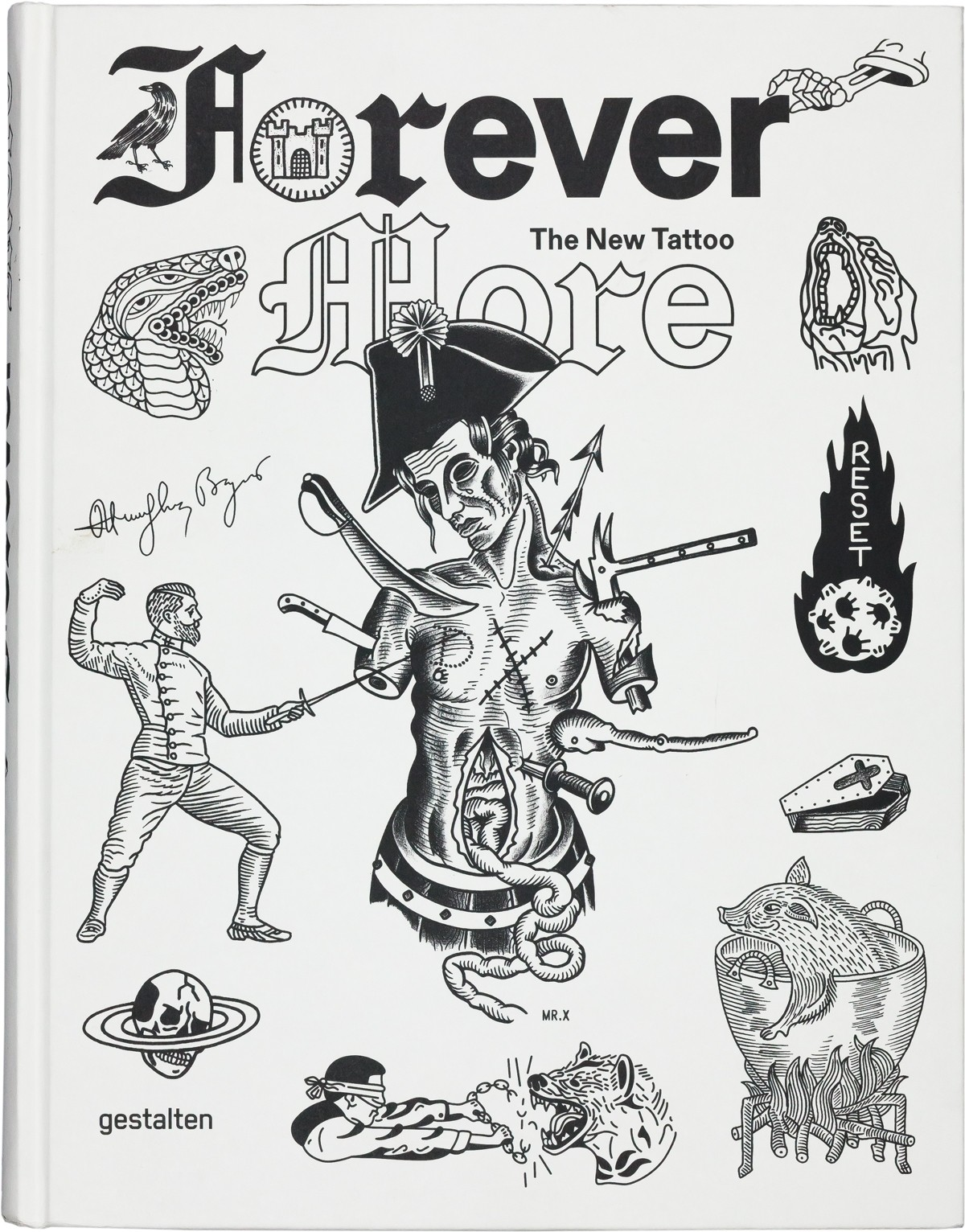 forevermore tattoo book gestalten cover front
